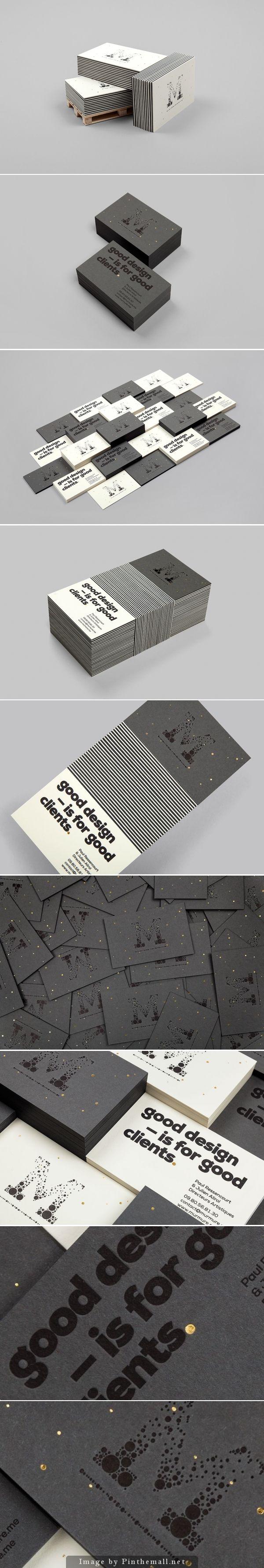Biz card / Good design by Murmure