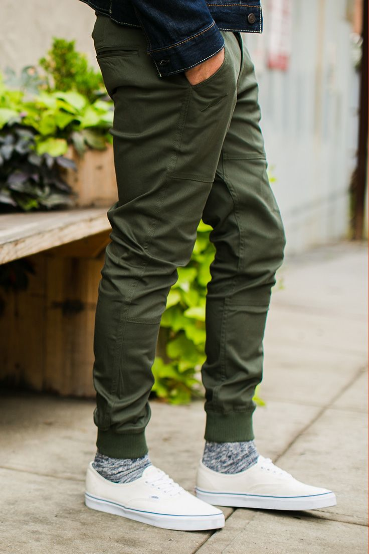 JCPenney has a great selection of affordable jogger pants, making it easy to try out this trend worry-free. Picking the right shirts and accessories allows you to wear joggers and look mature, yet stylish.