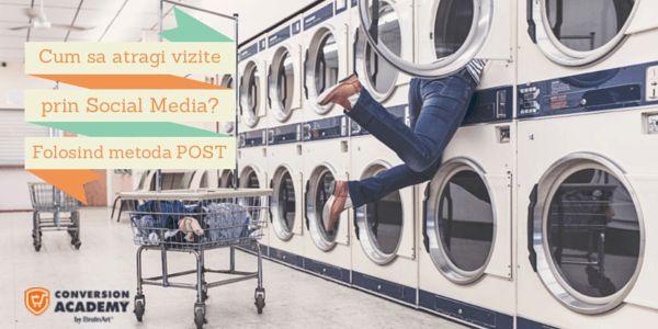 cum sa atragi vizite prin social media