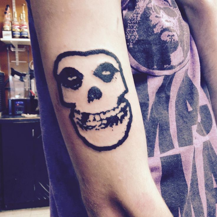 Misfits tattoo submitted by afarewelltoquadrophenia tumblr