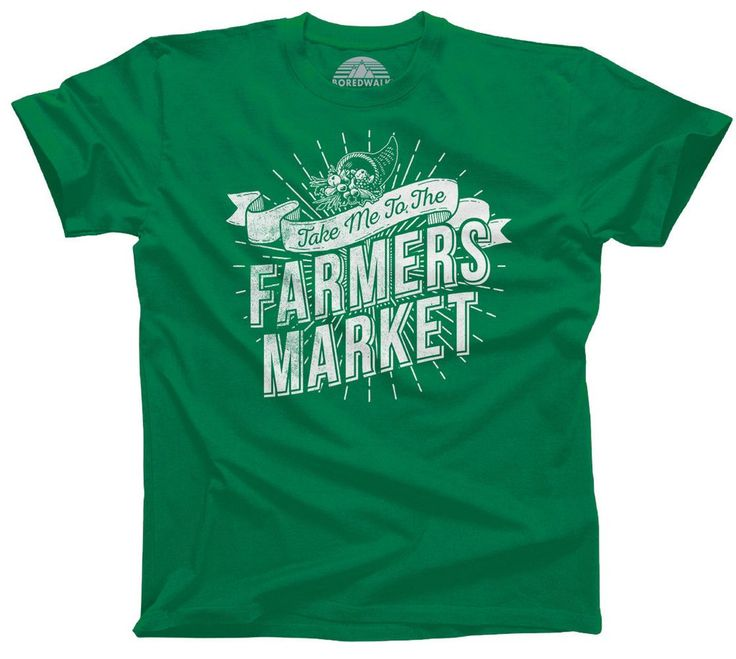Men's Take me to the Farmers Market T-Shirt Cool Hipster Foodie