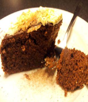 Chocoladecake met Kriek Max