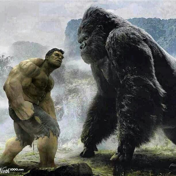 Hulk vs. King Kong..........................                              …