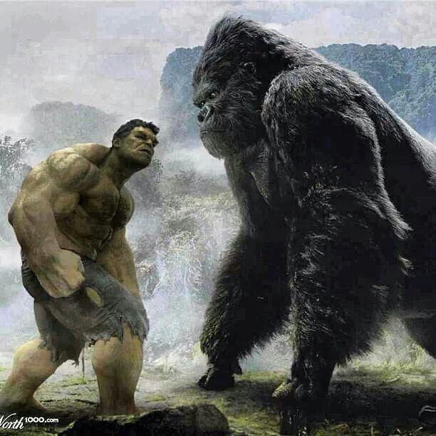 Hulk vs. King Kong..........................                              …
