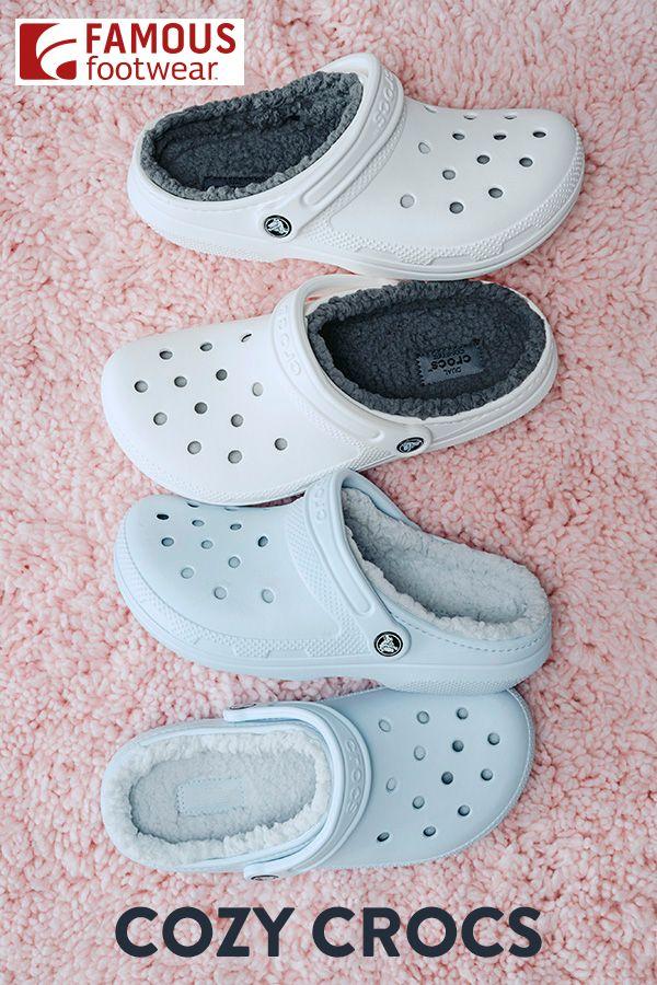 Cozy Crocs | Hype shoes, Stylish shoes