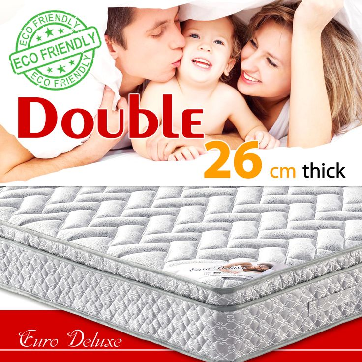We are glad to introduce you a perfect solution  for your bedroom -   $164.99 Double size Euro Deluxe mattress