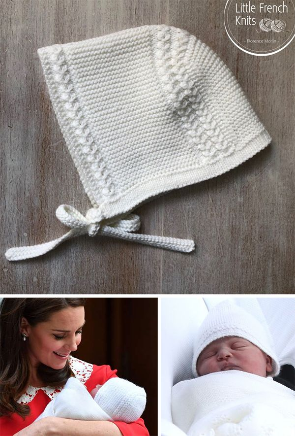 2b25ee8322d ... Prince Louis Royal Baby Bonnet - Baby bonnet inspired by the bonnet the  newborn Prince Louis wore on leaving the hospital. Size   Newborn - 3  months.