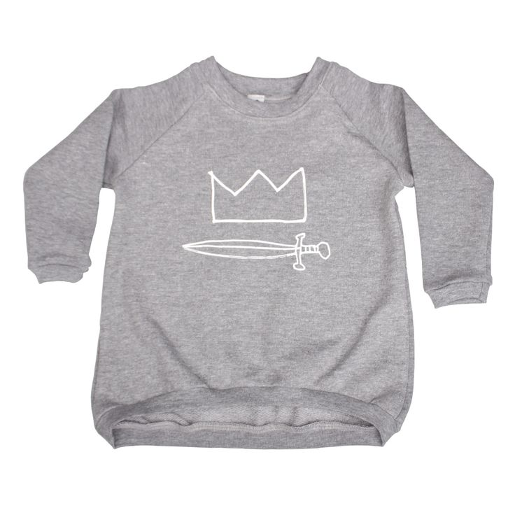 Grey sweathirt with Prince print. Available at www.iceicebaby.cz