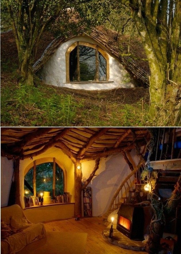 If it were an option, I would totally have a Hobit house... This is not a joke, I am dead serious and will look into making it a reality one day.