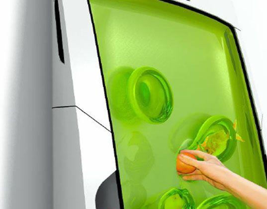 #Zero #Energy #Refrigerator, #bio #robot #refrigerator cools your food with future #gel - #electrolux #design #green
