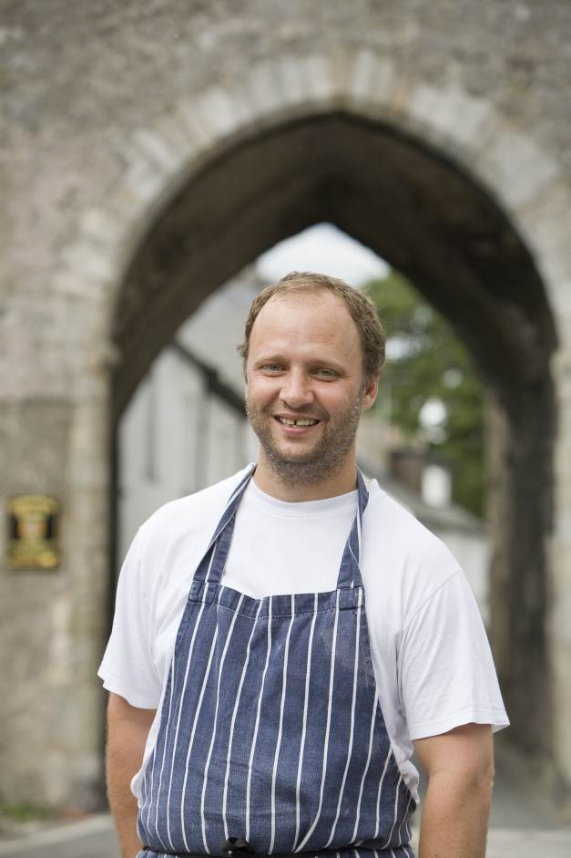 Simon Rogan, renowned owner/chef of L'Enclume in Cartmel, Cumbria and now The French at the Midland Hotel, Manchester