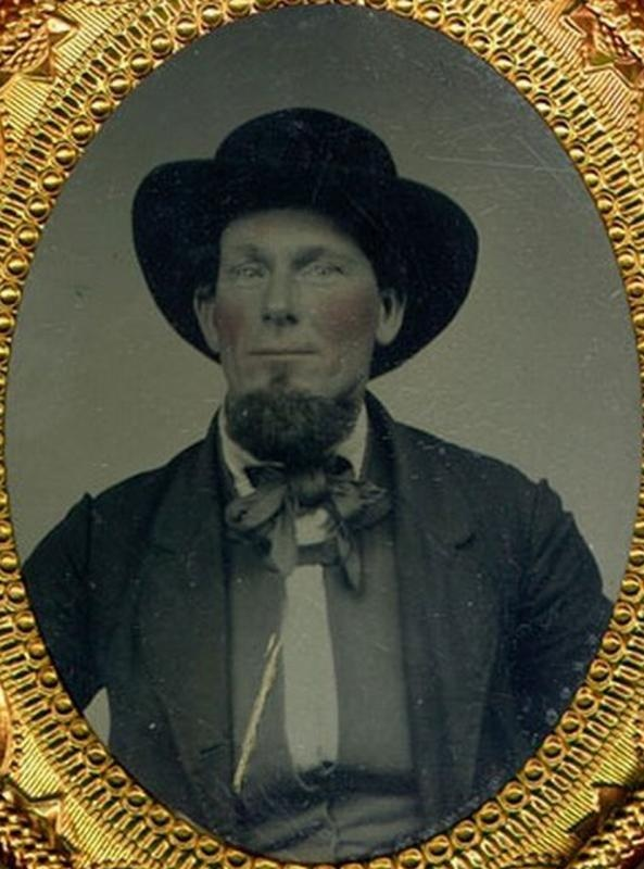 This image is supposedly one of Henry Comstock, for whom the Comstock Lode in NV is named.