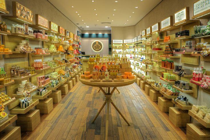 The Body Shop inaugura doze lojas em pouco mais de um mês no Brasil