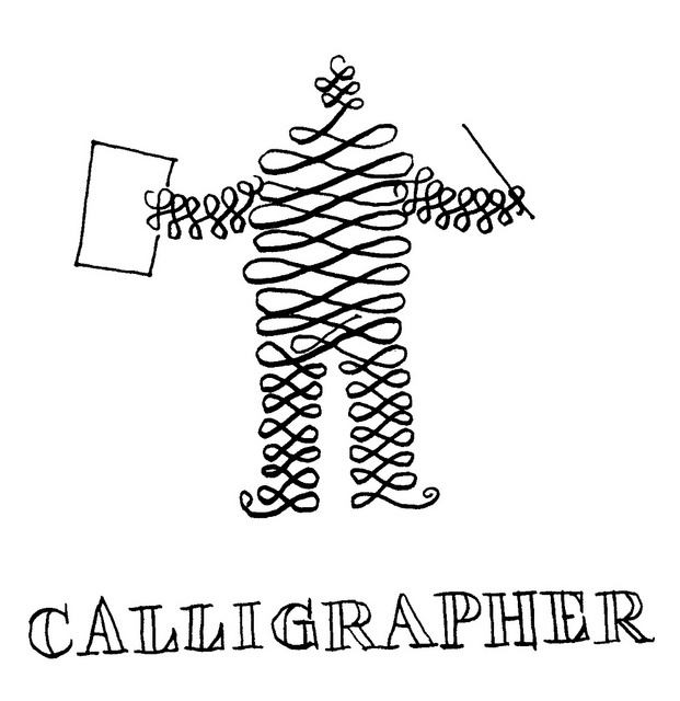 Calligrapher by Don Moyer, via Flickr