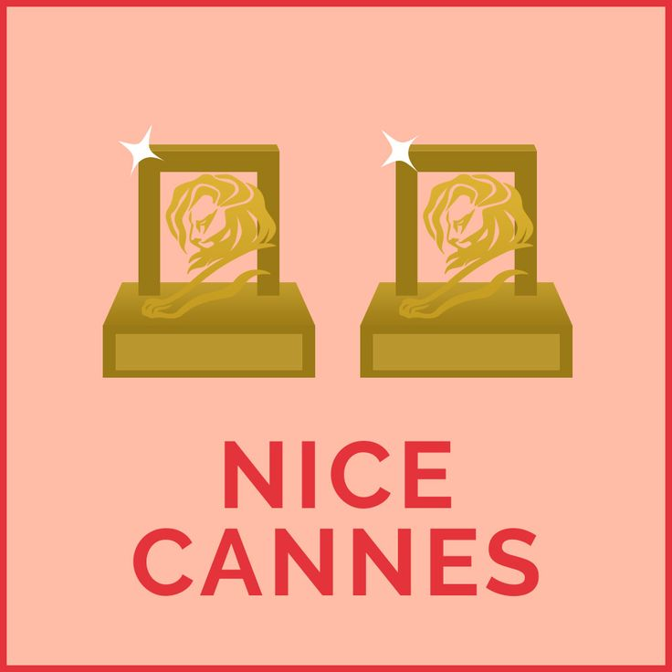 """NICE CANNES For an award  winning lover. Get them lion next to you tonight. Design by Chumpy Ly, copy by Bridget Dominic, """"supervision"""" by Alex Watts"""