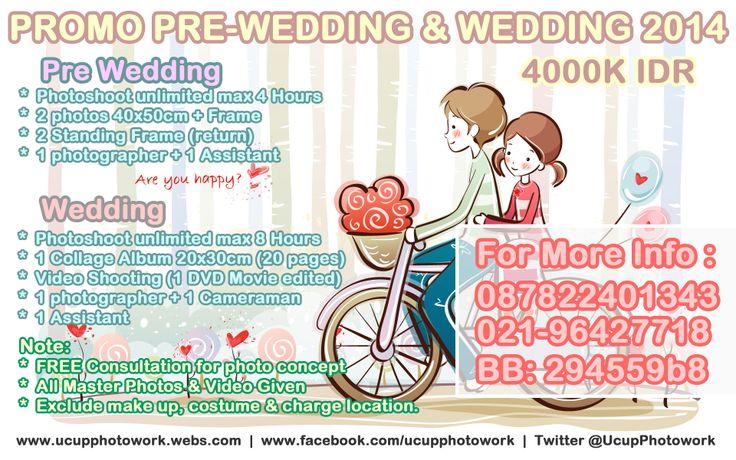 paket murah foto video prewedding wedding 2014