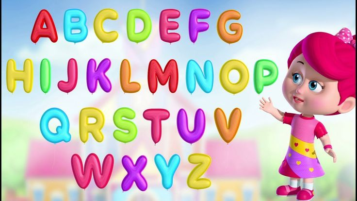 ABC Song with Balloons | Alphabet Song | A to Z for Children | 3D Animation from Betty and Bunny!