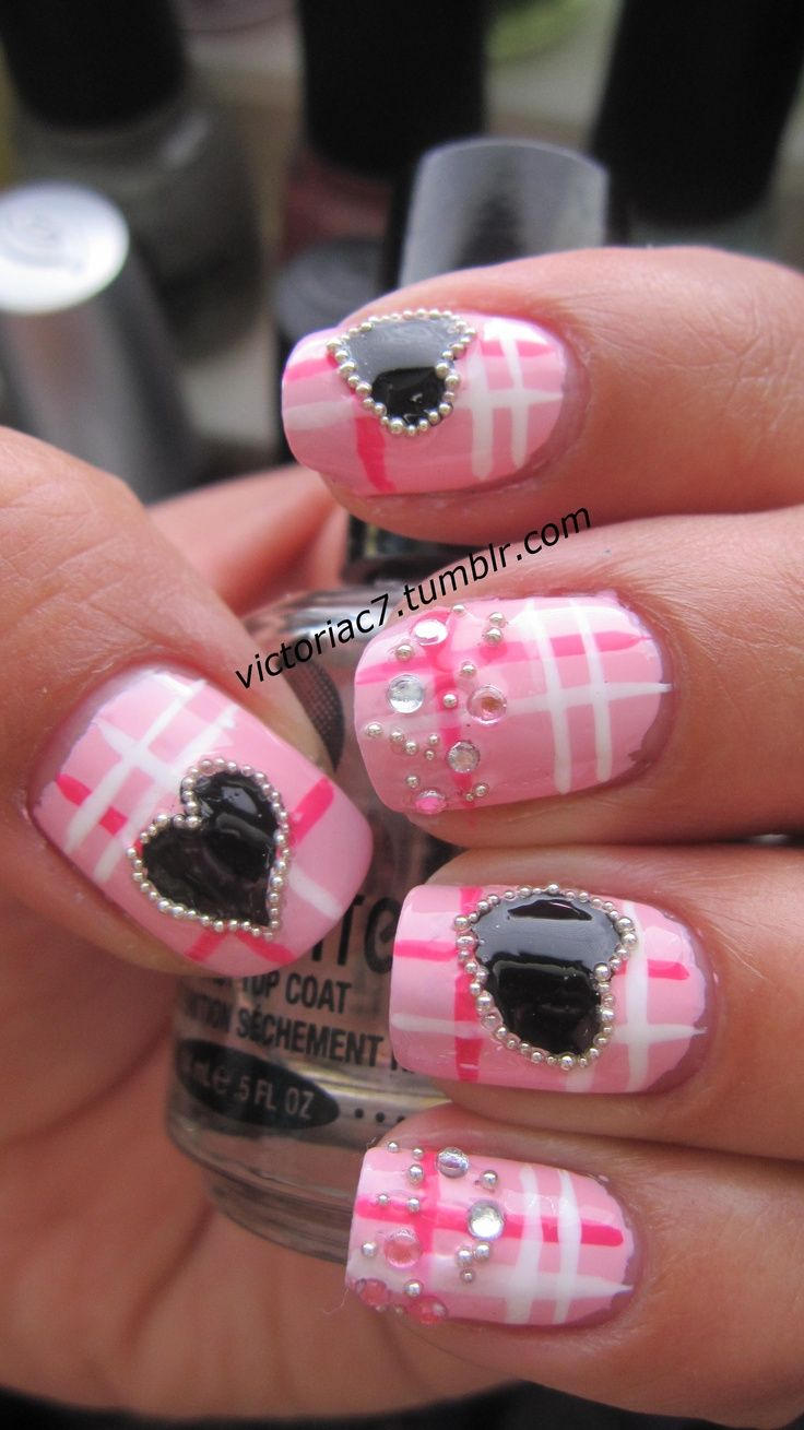 Pin by Stasija on Nails Valentines nails, Fancy nails