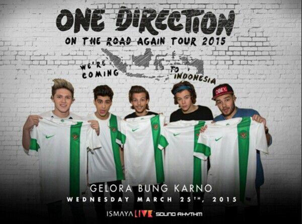 #onedirection#ontheroadagain#tour#2015