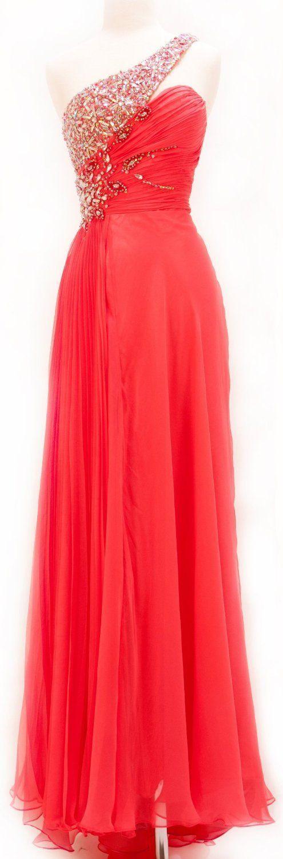 Long Prom Dresses | Cheap long one shoulder prom dresses 2014