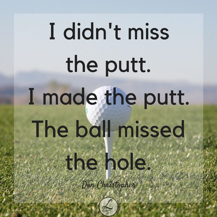 Golf Quote Stunning 4651 Best Golf Images On Pinterest  Golf Clubs Golf Tips And