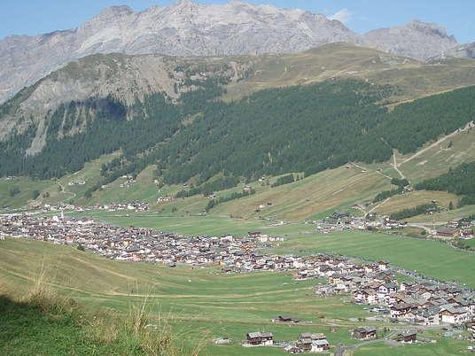 Livigno's valley.