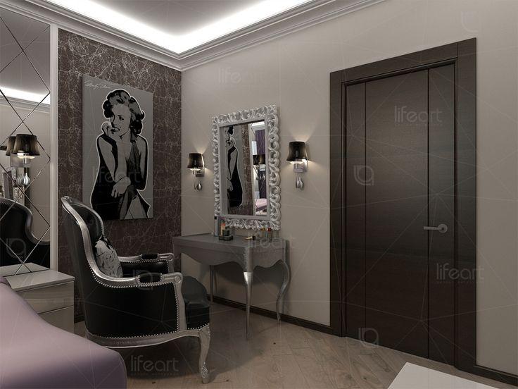 Спальня в смешанном стиле «Золотая гавань»   lifeat.su