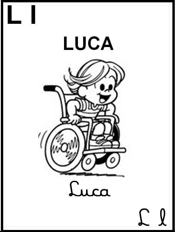Alfabeto Ilustrado Turma Da Monica Letra L Com Imagens