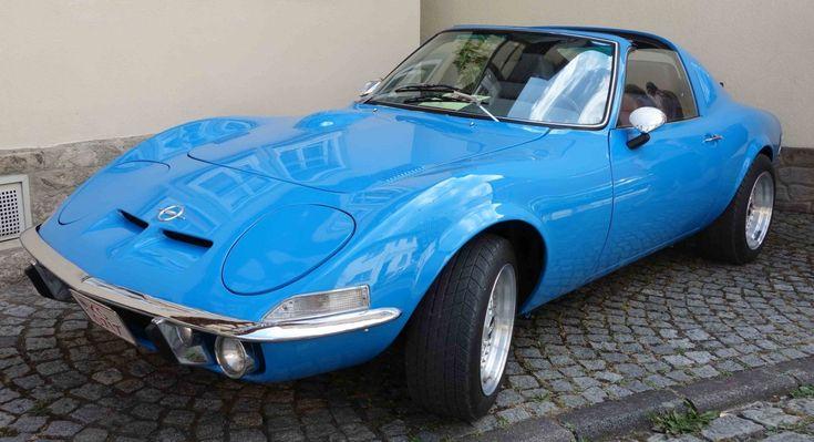 Opel GT (1968-1973) Fotos
