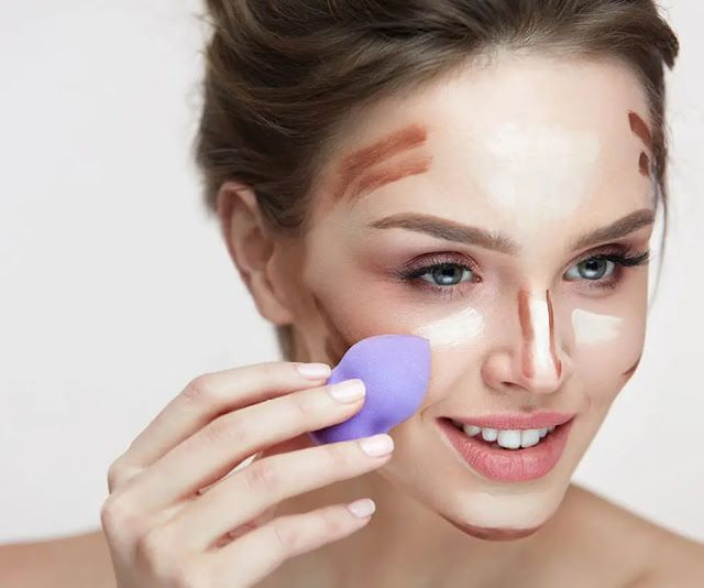 أهم طرق وضع الكونتور كل ما تودي معرفته عن الكونتور وتنحيف الوجه Face Products Skincare Beauty Tips For Hair Face Contouring