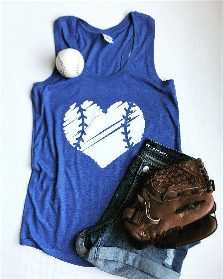 Baseball Heart Tanks | XS-2X