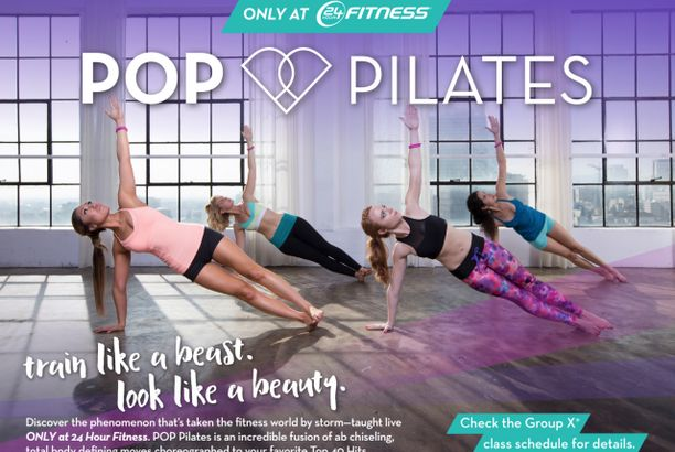 POP Pilates at 24 Hour Fitness and the BEST HIIT TIMER EVER!