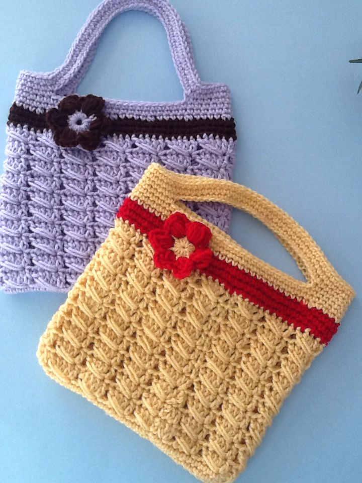 Crochet Work Bags : Crocheted Handbags My work Pinterest Handbags