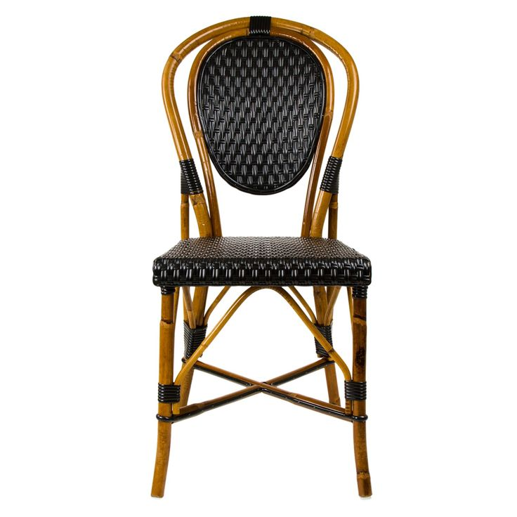 Black U0026 Cream Mediterranean Bistro Chair $235 | Furniture | Pinterest |  Bistro Chairs, Black Cream And French Bistro