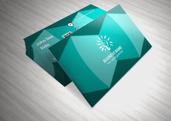 Check out Corporate Business Card Template by NicuB on Creative Market