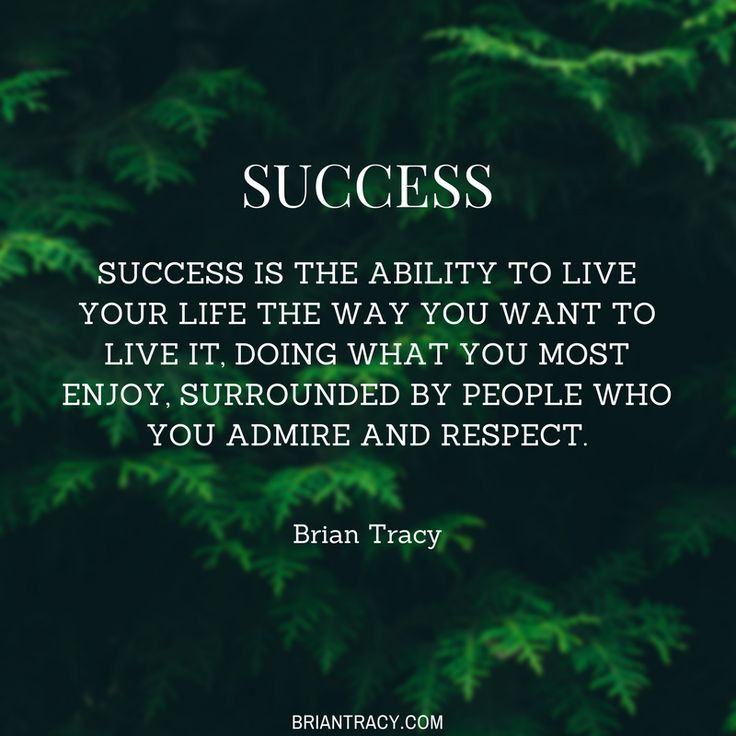People often ask me to define #success, and this is my favorite definition. How do you define success?