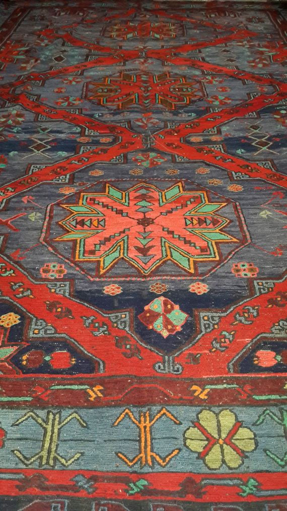 Check out this item in my Etsy shop https://www.etsy.com/listing/211955570/vintage-antique-caucasian-kilims-rugs