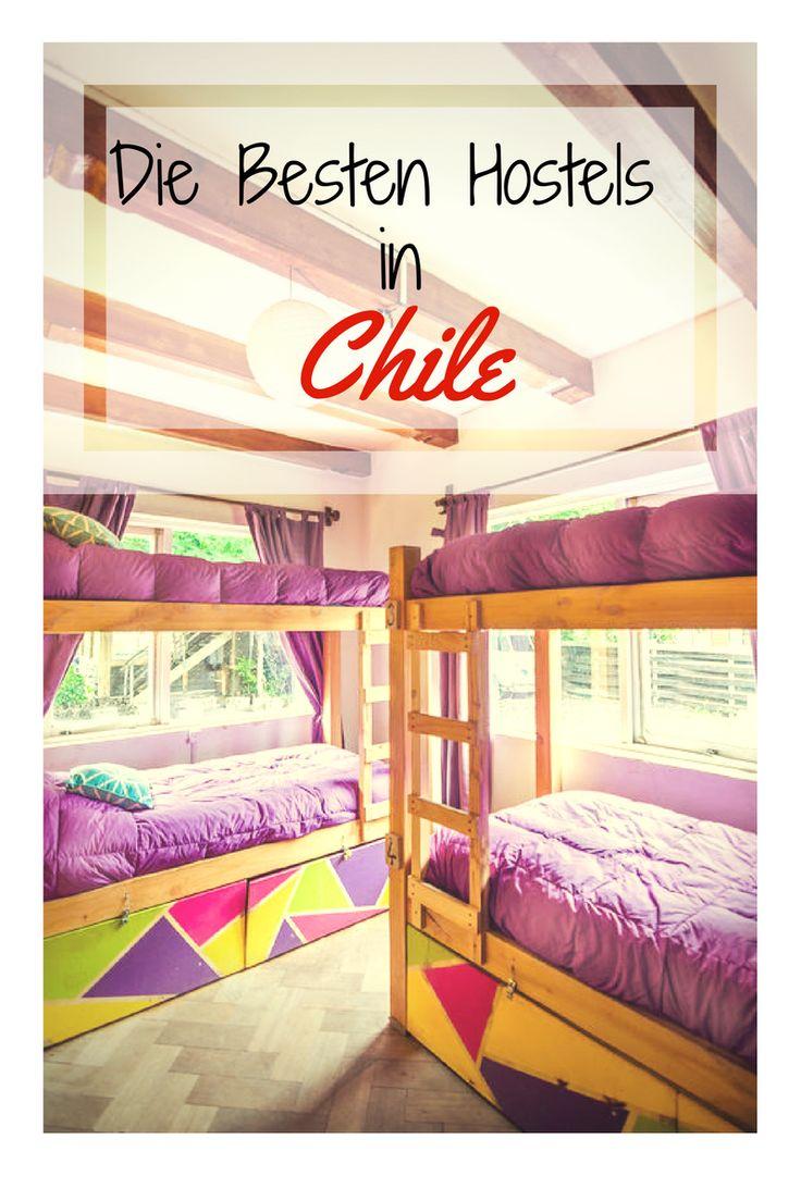 Du suchst noch ein Backpacker Hostel in Chile Ich habe für euch eine Liste zusammengestellt mit den besten Hostels in Santiago, Valparaiso, Vina del Mar, La Serena, Pucon, Puerto Natales, San Pedro de Atacama, Puerto Varas und Punta Arenas. Hier findest du bestimmt die passenden Unterkünfte für deine nächste Reise nach Chile. #travel #reise #chile #suedamerika #santiago #hostel #valparaiso #southamerica Vielen Dank fürs weiterpinnen.