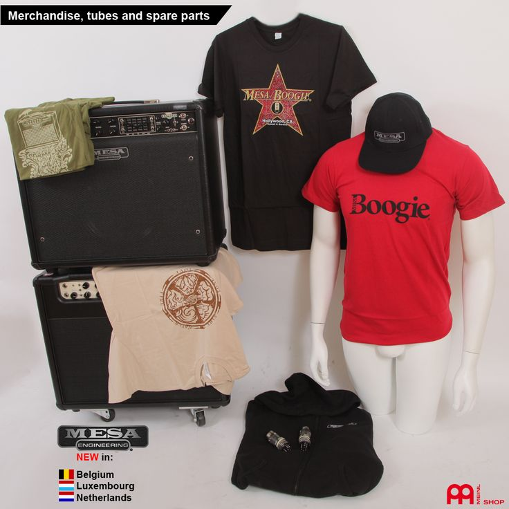 From now we offer mesaboogie merch, tubes and spare parts for our neighbours in belgium, luxembourg and the netherlands from our meinlshop.de