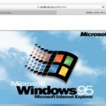 technewsshop.com Windows 95 running natively in your browser is a sight to behold
