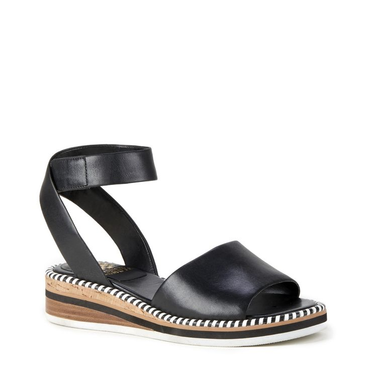 Toms Lexie Black Leather, Schuhe, Sandalen & Hausschuhe, Riemensandalen, Schwarz, Female, 36