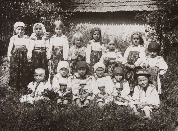 Sergei Protopopov: Children of the Carpatho-Ukraine: 1927  part of the Carpatho-Ukraine was one of those times in Czechoslovakia ...