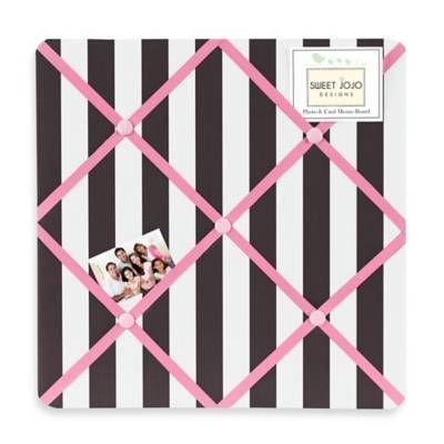 product image for Sweet Jojo Designs Paris Fabric Memo Board