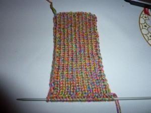 Vše o co se zajímám: Pletené ponožky na dvou jehlicích