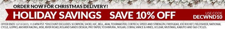 10% Off December Weekend Sale
