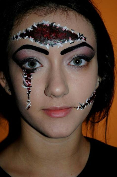 12 best Freaky Make-up images on Pinterest | Costumes, Draw and ...