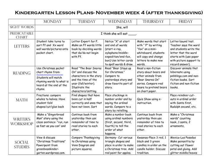 Kindergarten Calendar Math Lesson Plans : Best images about lesson plan ideas on pinterest