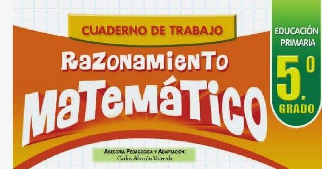 aLeXduv3: Material de matemáticas quinto grado primaria