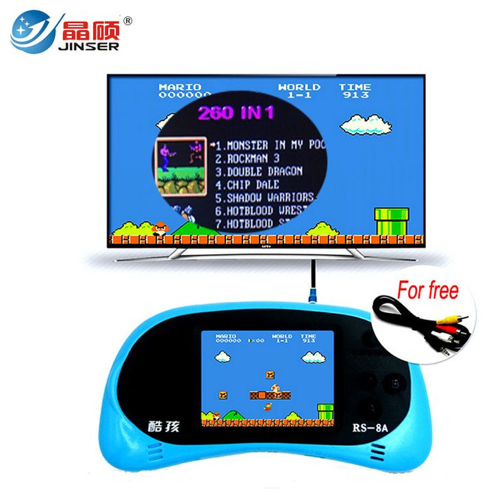 Here is a sneak peak at what's new and fresh at Costbuys today RS-8A Video Game ... see for yourself and don't ever doubt again http://www.costbuys.com/products/rs-8a-video-game-console-8-bit-2-5-inch-handheld-game-player-built-in-260-different-games-childrens-game-color-tetris-2?utm_campaign=social_autopilot&utm_source=pin&utm_medium=pin