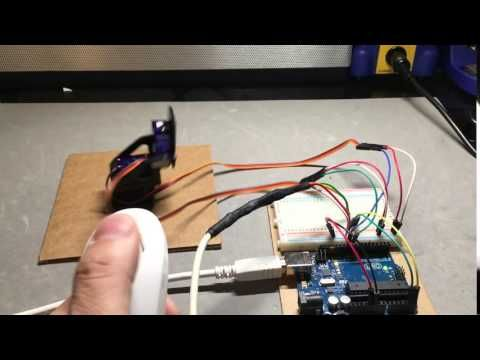 Control Servos using Wii Nunchuk - Hackster.io